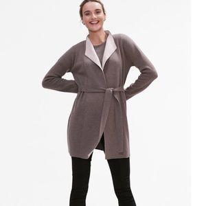 MM Lafleur O'Keeffe Luxury Wrap Cardigan Sweater